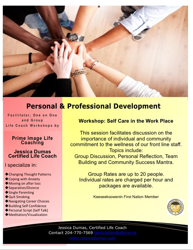 Personal & Professional Develpment Workshops for 'usually stressful workplaces'